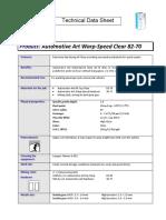 Warp speed clear