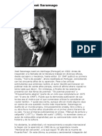 Jose Saramago . Biografia y Obras Resumenes
