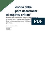 La Filosofía debe servir para desarrollar el espíritu crítico.docx