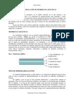 Diseño y Aplicación de Membranas Asfálticas