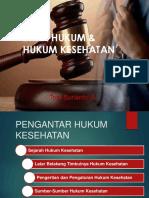 1. Pengantar Hukum Kesehatan