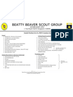 Sample Packing List of a 3D2N Camping Trip 2