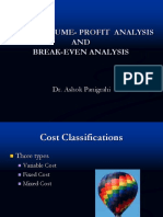 CVP & BEP Analysis - 1