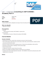Financial-Accounting in Sap s4 Hana Academy