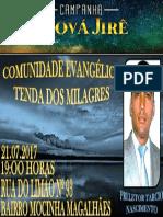 Campanha Jeová Jiré 2017
