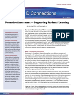 2012. 12 Pages. Formative Assessment — Supporting Students' Learning