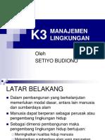 K3 Manajemen Lingkungan