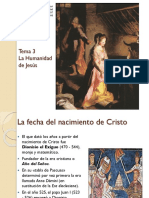 Tema 3 La Humanidad de Jesús