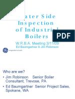 7 Waterside Inspection Industrial Boilers