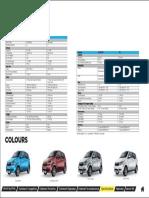 Mahindra e2oPlus Specifications