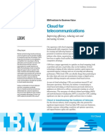 Cloud for Telecommunications Exec Summary