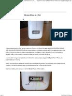 Cómo Fabricar Un Cargador USB Para iPhone 3g _ iPod _ Raton Tech _ Net _ Media _ Ideas