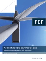 Brochure Connecting Wind Power to the Grid En