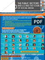 Public Sector web 3.0 and Future of Social Media eGov