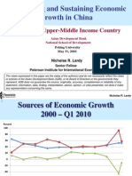 Toward an Upper-Middle Income Country