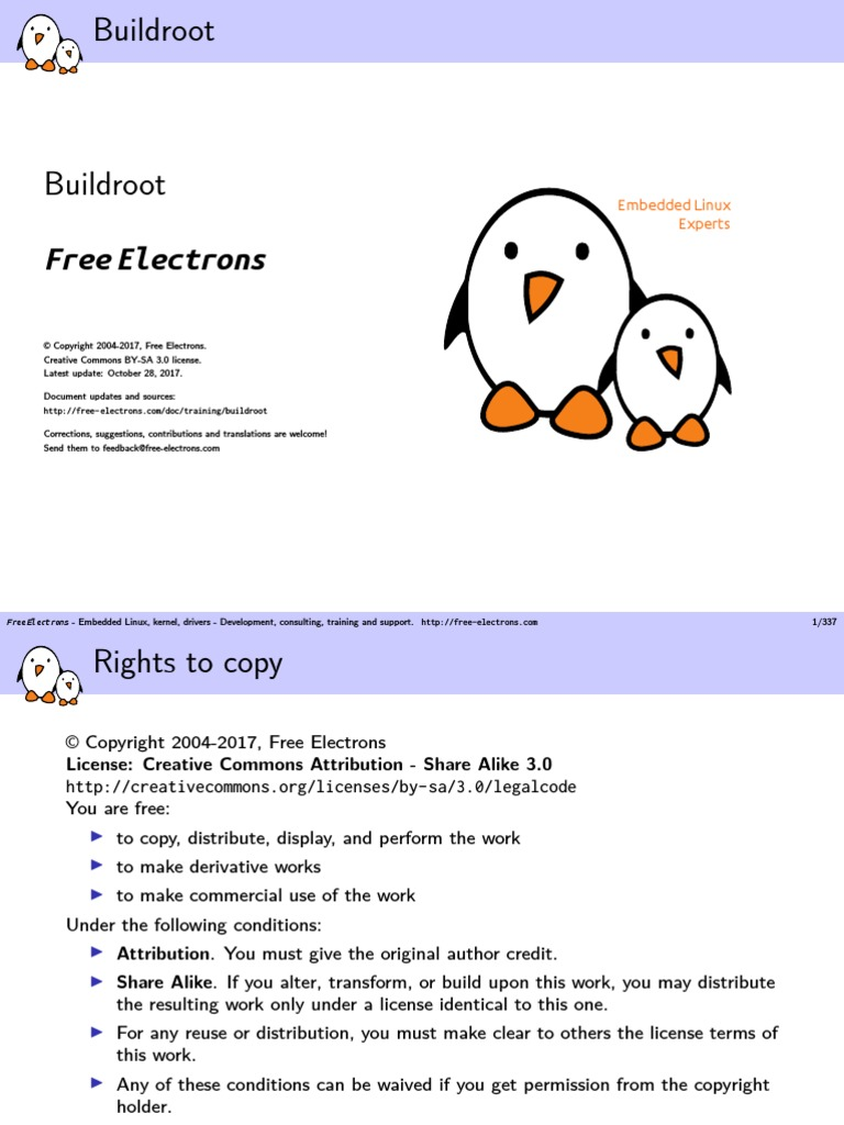 Buildroot Slides | Linux | Linux Distribution