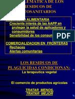 Residus Fitosanitaris i 2003