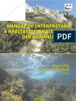 Manual de Interpretare a Habitatelor