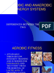 Aerobic and Anaerobic Training