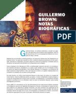 Nota bibliográficas de Guillermo Brown
