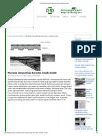 Plat Lantai Komposit Baja Dan Beton Metode Bondek