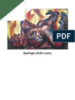 Apologia Della Razza