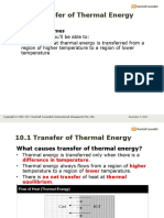 Pure Unit 10 Transfer of Thermal En