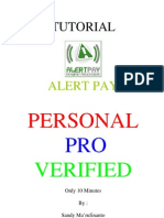 Verifikasi Alertpay Pro