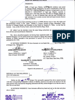 Deed of Absolute Sale - Bayanihan