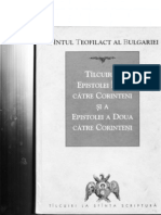 Sf Teofilact Al Bulgariei - Talcuirei I Si II Corinteni
