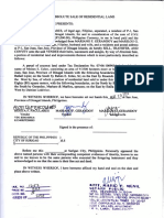 Deed of Absolute Sale - Paculares