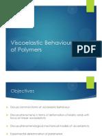 AMOM Lecture4 - Viscoelasticity p1