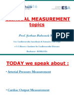 Clinical Measurement Topics