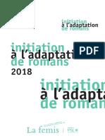 Brochure Initiation a l Adaptation de Romans 2018