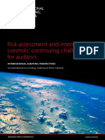 Risk Assessment and Internal Controls - Continuing Challenges for Auditors - FINAL