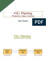 PSI Planning 2017
