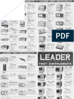 Leader Test Instrument Pictures