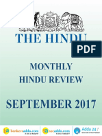 The Hindu Review September 2017