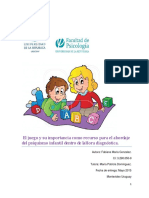 El Juego y Su Importancia en el psicodiagnóstico infantil