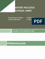 PPT Radiologi HNP