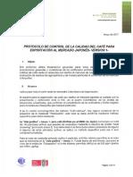 Anexo Resolución No. 03 Medidas Para Garantizar La Calidad Del Café