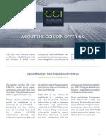 GGI CoinOffering Info