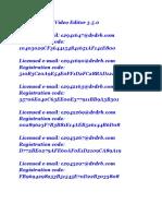Wondershare Video Editor 3 Code Register