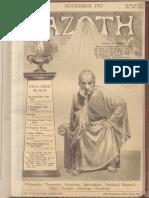 Azoth, Volume 1, number 11, November 1917
