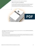 Como Hacer Una Introduccion Para Un Informe _ Como Hacer Una Introduccion