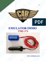 Emulator Immo Tms374