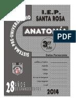 ANATOMÍA  3° SEC 2014