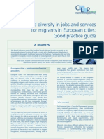 Equality and Diversity in Jobs and Services for Migrants in European Cities Good Practice Guide