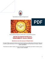 05 2014 Retiro de Pentecostés 2014 Documento de Trabajo Para Participantes