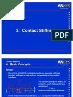 Ch3 Contact Stiffness